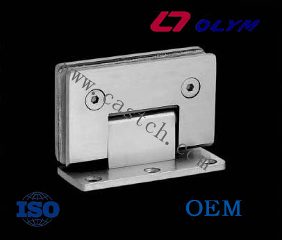China OEM glass hinges with precision investment casting