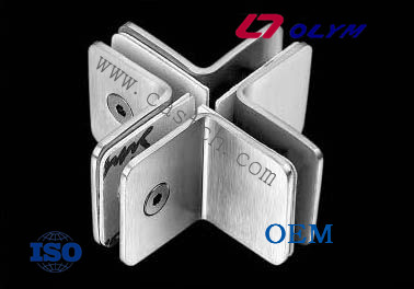 DIY steel casting glass hinges with investment casting