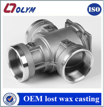 China OEM precision casting steel pneumatic valve parts