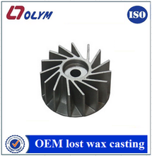 China OEM precision investment casting impeller parts