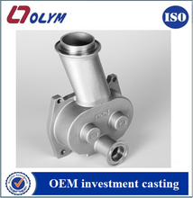 Investment casting china cast steel products valve casting