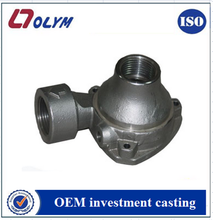 OEM stainless steel pump casting with silica sol investment
