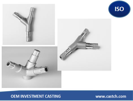 CF8M precision casting electrical lamp fittings